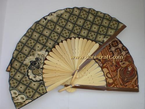 Souvenir Kipas Batik Murah