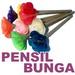 souvenir pensil bunga