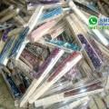 souvenir kipas batik besar glitter
