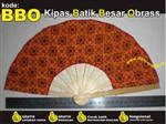 kipas batik, souvenir pernikahan