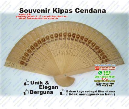 Souvenir Kipas Cendana