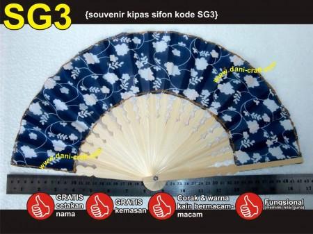 souvenir kipas SG3