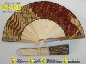 souvenir kipas batik BKSB