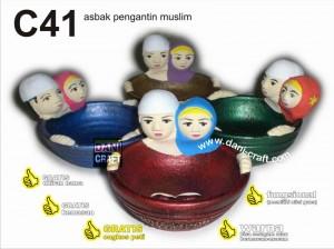 souvenir pengantin muslim