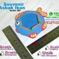 asbak ikan souvenir