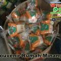 souvenir rumah minangkabau