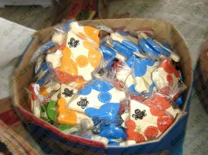 souvenir tempat lilin K4 foto produksi