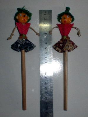 sovenir pensil boneka DUP11