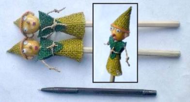 sovenir pensil boneka DUP7