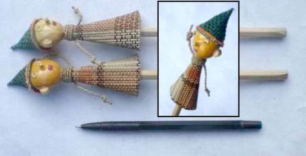 sovenir pensil boneka DUP9