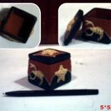 Tempat Perhiasan Kotak / souvenir tempat cincin (D5)