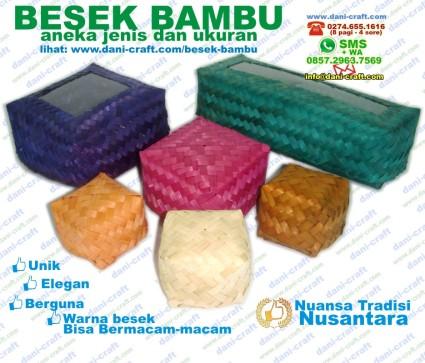 besek bambu