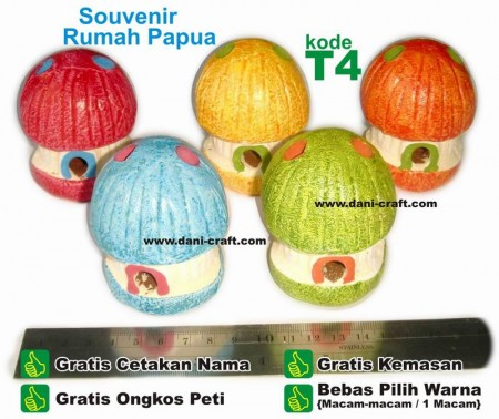 souvenir rumah papua