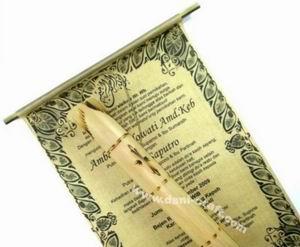 Jenis Undangan Pernikahan