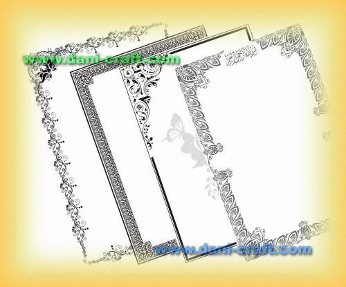 bingkai undangan border undangan frame undangan