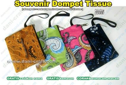 dompet tempat tissue