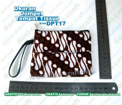dompet tempat tissue souvenir