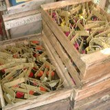 pembuatan souvenir bunga kering 2