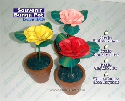 kerajinan bunga kering