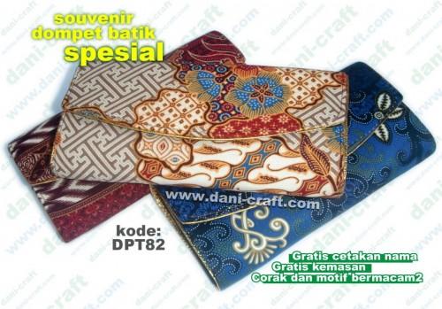 souvenir dompet batik spesial mewah
