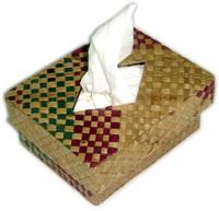 Box Tempat Tissue Kotak Anyaman Pandan