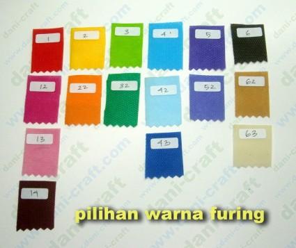 pilihan warna furing