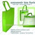 souvenir tas furing puring warna hijau TP2