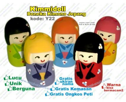 boneka jepang kimono, kimmidoll