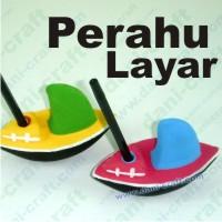 Souvenir Perahu Layar (X25)