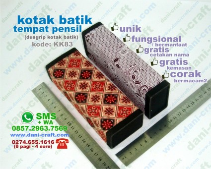 dusgrip batik tempat pensil