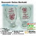 gelas berkaki souvenir