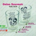 gelas souvenir pernikahan