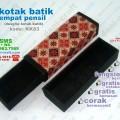 kotak tempat pensil batik