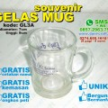 mug gelas souvenir