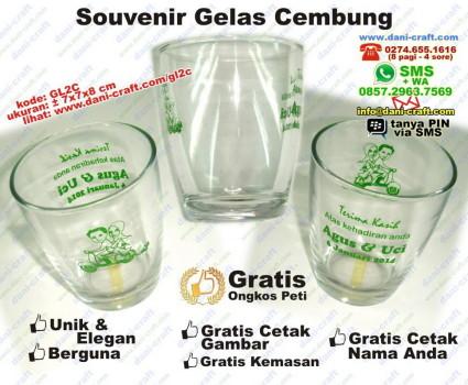 souvenir gelas cembung
