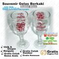 souvenir gelas goblet