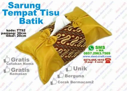 sarung tempat tisu batik