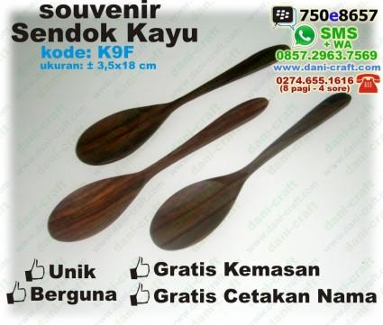 sendok kayu souvenir