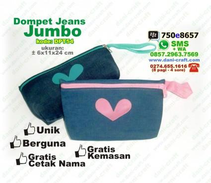 souvenir dompet jeans jumbo