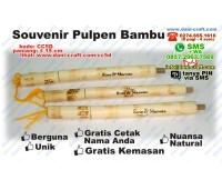 souvenir pena bambu