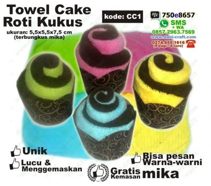 souvenir towel cake murah