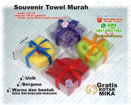 contoh souvenir towel