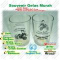 gelas murah souvenir