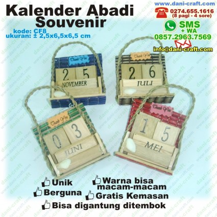 souvenir kalender abadi