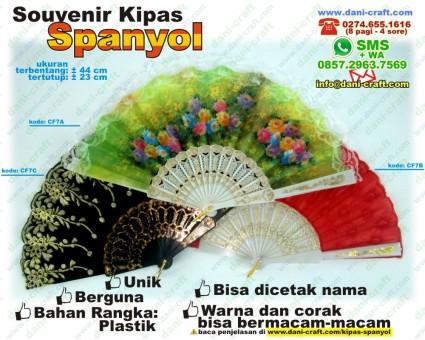souvenir kipas spanyol
