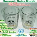 souvenir gelas murah