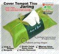 Cover Tempat Tisu Jaring Elegan