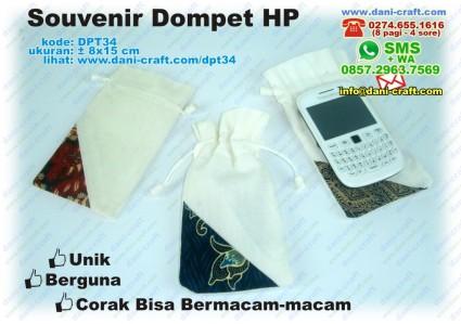souvenir dompet HP
