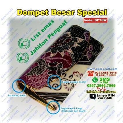 dompet batik spesial jahit emas