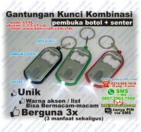 Pembuka Botol, Senter, Gantungan Kunci, Kombinasi